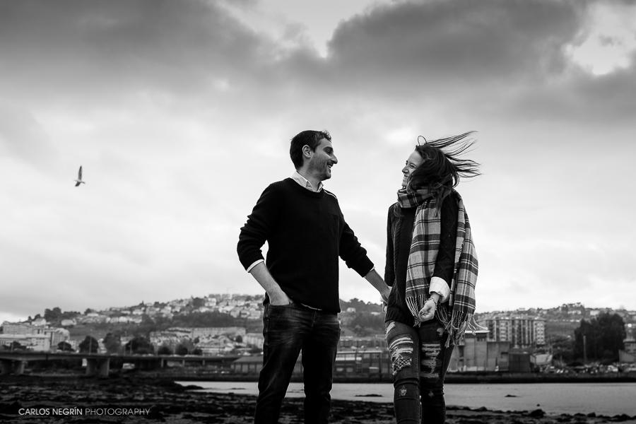 Fotógrafo en La Coruña, Bodas en Galicia, reportajes de pareja, Carlos Negrín Photography