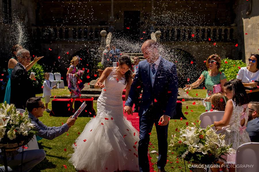 fotógrafos de boda, Pazo de Urzáiz en Nigrán, Carlos Negrín Photography, J+A