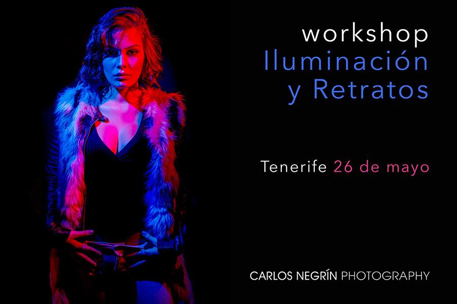 Taller de fotografía en Tenerife Carlos Negrín Photographers