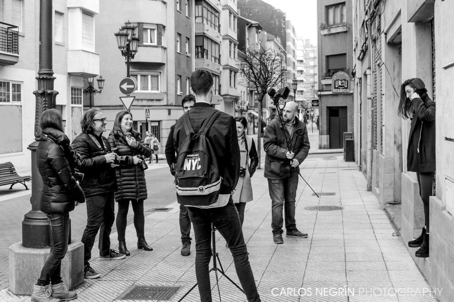 Taller fotográfico de iluminación y retrato, Carlos Negrín escuela para fotógrafos