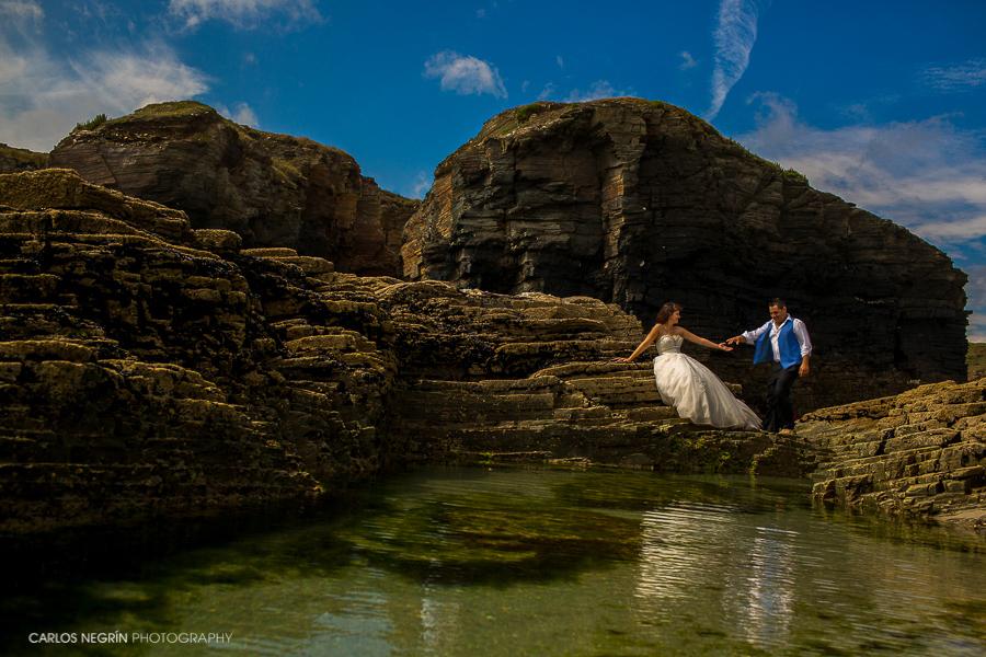N+H fotógrafo de bodas, reportajes de parejas, preboda y postboda en Lugo, Galicia. Carlos Negrín Photography,