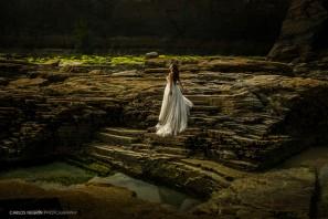 N+H Reportaje de postboda en Praia As Catedrais, Carlos Negrín Photography, fotógrafo profesional de bodas en A Coruña.
