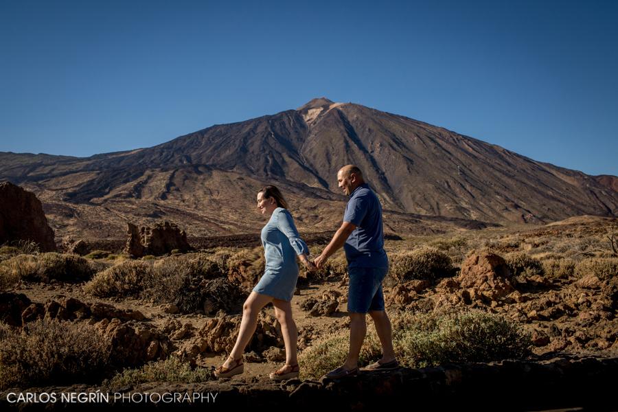 Bodas Tenerife, Preboda en el Teide, Carlos Negrín Photographer, V+J