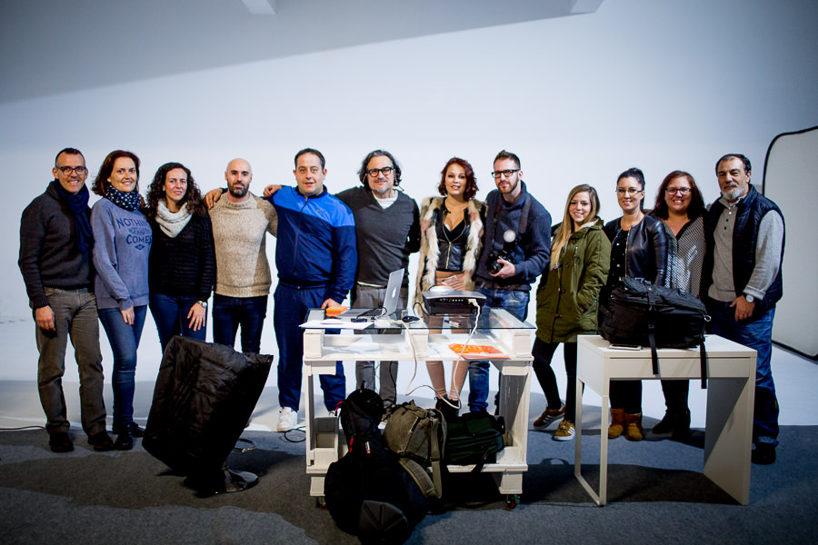 Taller de iluminación y retrato en A Coruña, Cursos para fotógrafos, Carlos Negrín Fotografía